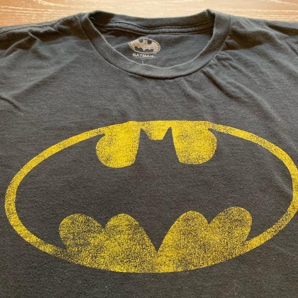 Batman DC Comics Duct Tape Logo Little Boys T-Shirt Tee